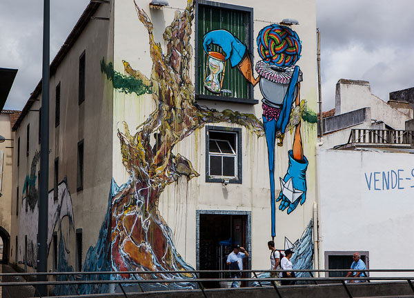 Ponta Delgada wall art 2